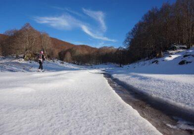 """""""Sulla neve del Monte Calvo"""""""