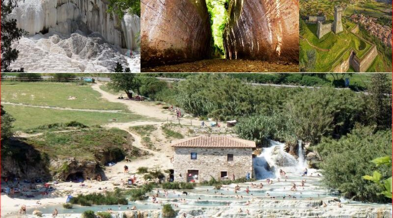 """""""Relax tra Terme e vie cave della Toscana"""" – 3 gg di passeggiate facili e bagni termali"""