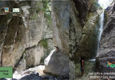 """""""IL Canyon del Lacerno, avventura e bagni"""""""