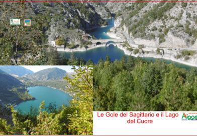 Le Gole del sagittario, il lago del Cuore e i bramiti