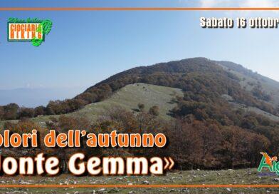 Supino (FR) – I Colori dell'autunno: Il Monte Gemma