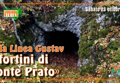 Atina (FR) – I Fortini della Linea Gustav sul Monte Prato
